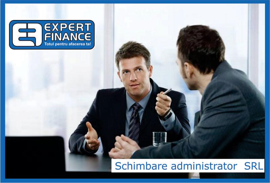 Informatii despre numirea unui administrator al  unei  firme